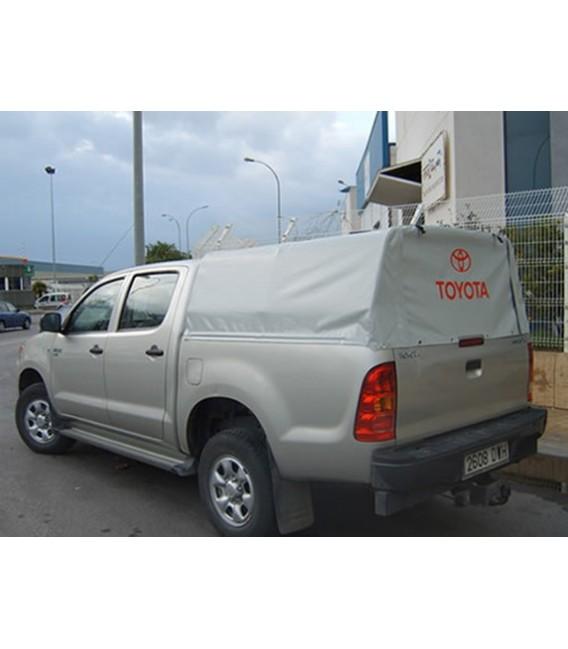 Toldo de lona cuadrado para pick up doble cabina de ford for Lona repuesto toldo