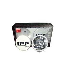 IPF HYBRID LIGHT SET ROUND 55W (Luz Corta+Larga) REDONDO - 55W