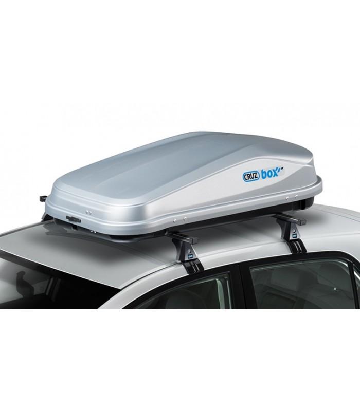 Cofre portaequipajes de techo cruz easy para coches todo terreno - Cofre techo coche ...