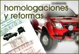 Homologaciones y reformas
