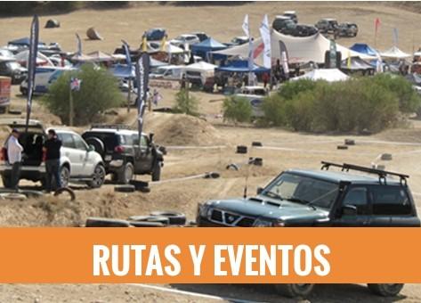 Rutas y eventos