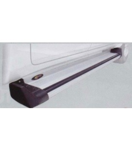 Estribos plataforma aluminio para Doble y Extra Cabina (Serie G)
