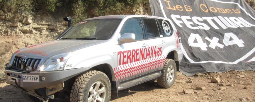 TERRENO4X4 EN  LES COMES