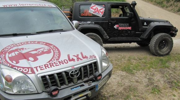 TERRENO4X4 DE RUTA CON IMPLEMENTOS WARN ADVENTURE