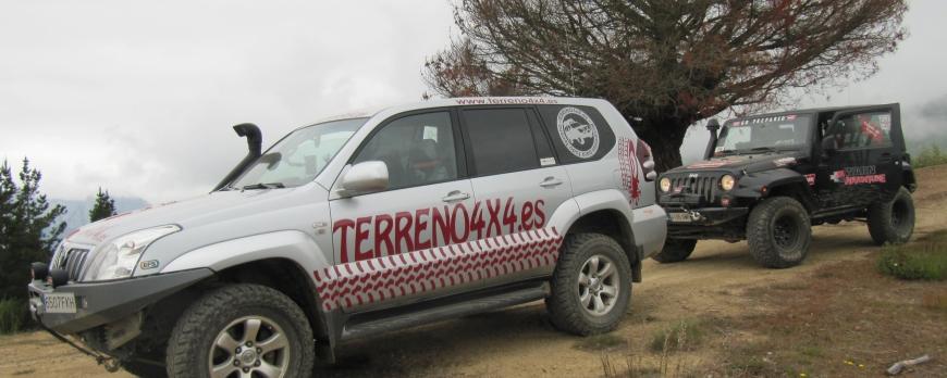 TERRENO4X4 DE RUTA CON IMPLEMENTOS WARN ADVENTURE