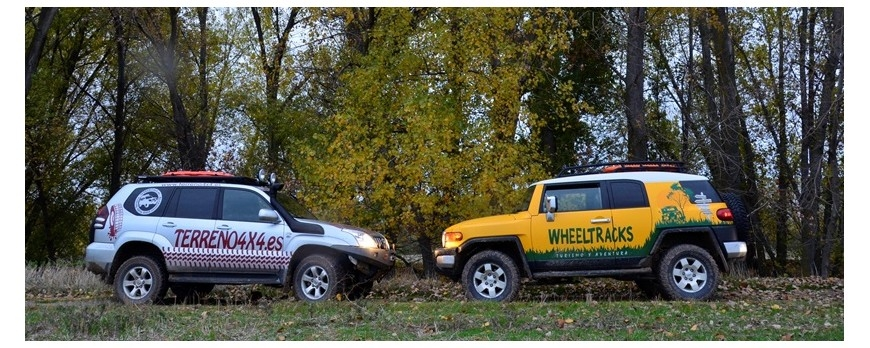 TERRENO4X4 de ruta con WHELLTRACKS